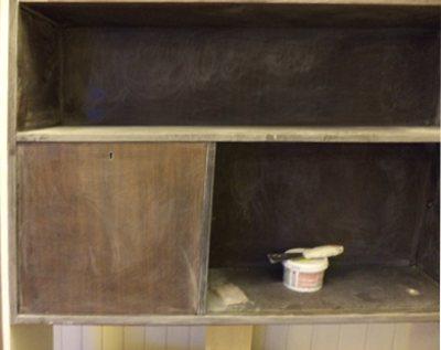 Как покрасить лакированную мебель, полированный шкаф, лакировку, полировку, стол, сервант, полки, гардероб