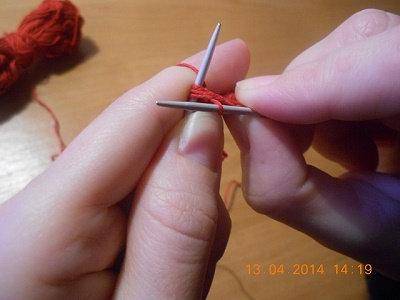 Как снять накид вязание 320