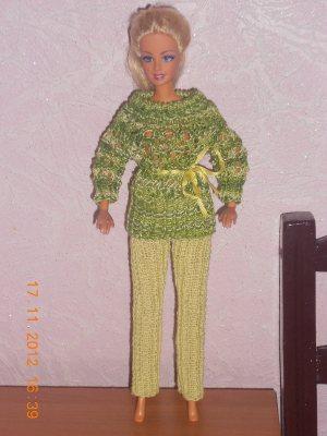 Миниатюрное вязание. Как связать кукле брюки, штаны своими руками? Схема, описание, инструкция