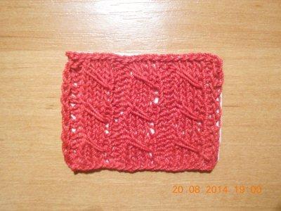вязание виток кукурузка рисунки схемы узоров
